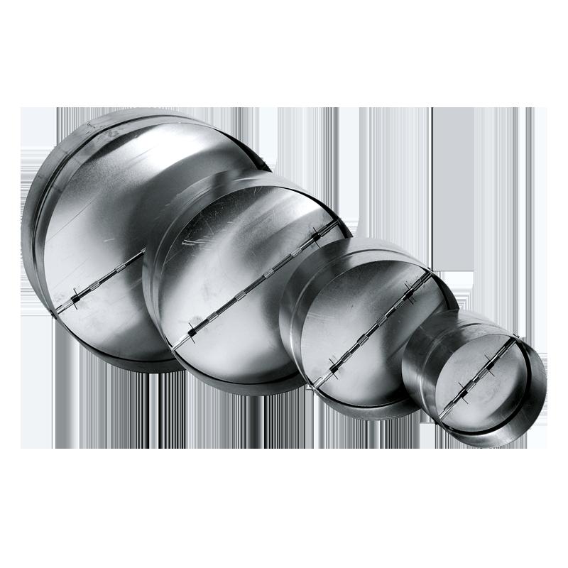 Backdraft dampers metal