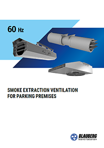"Catalogue ""Smoke extraction ventilation for parking premises (60 Hz)"""